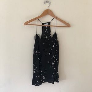 CamiNYC Star Silk Cami Small